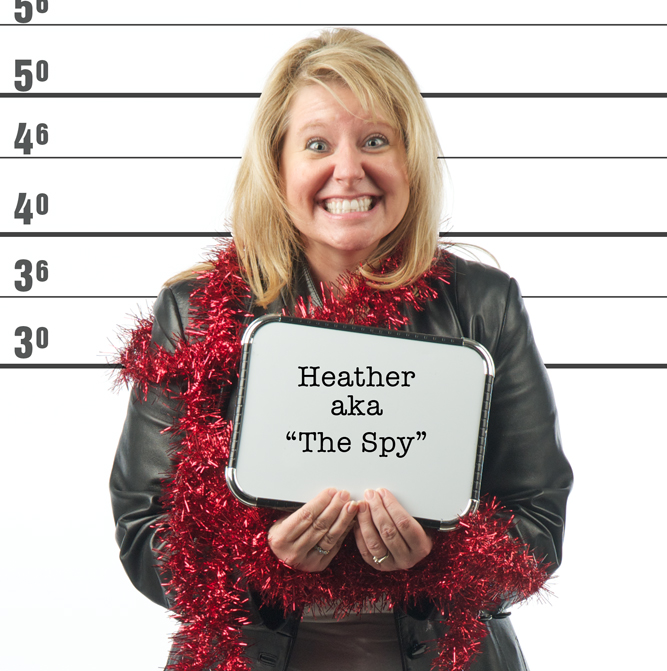 "Heather ""The Spy"" Kelley"