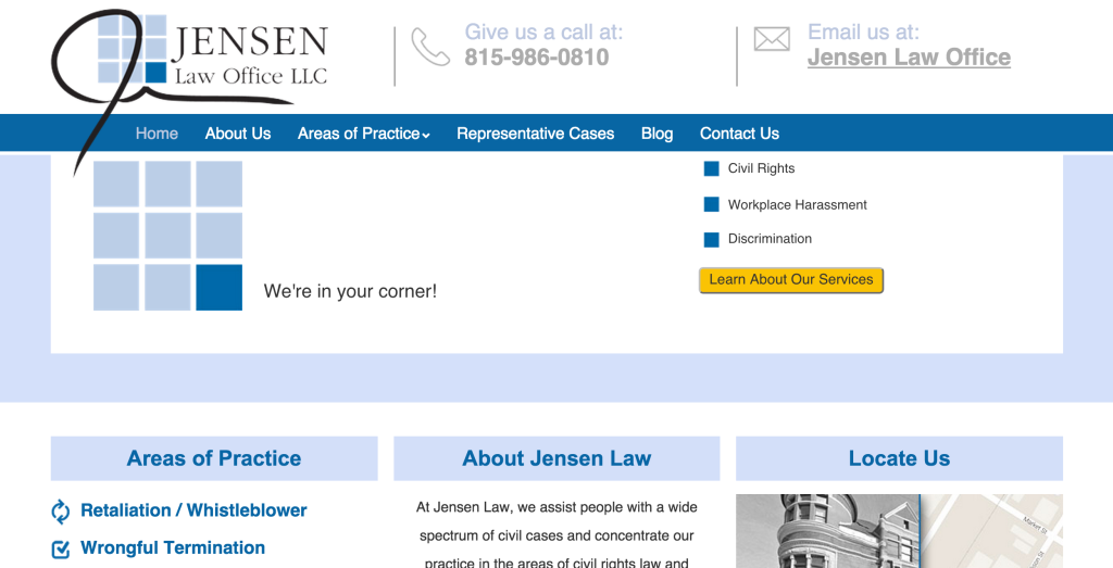 Jensen Law Office   My WordPress Blog